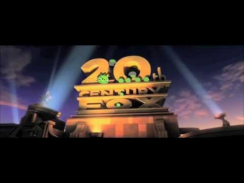 20th Century Fox Intro Angry Birds Style