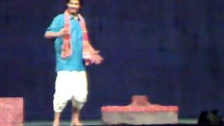Drama, single player on stage / Hemon Khan