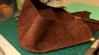 Making Leather Backpack 🎒 皮革背囊