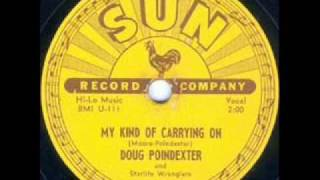 Doug Poindexter and Starlite Wranglers  My Kind Of Carring On  SUN 202