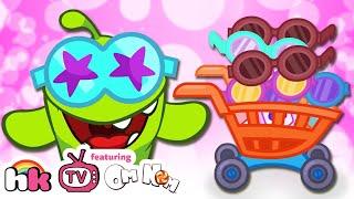 Om Nom Stories: Shopping Trip | Cartoons for Children | Funny Cartoons | HooplaKidz TV