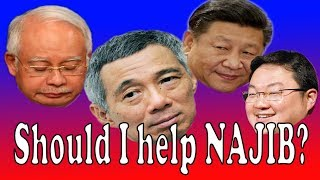 Najib 1MDB scandal link to Lee Hsien Loong or Xi Jinping or Jho Low