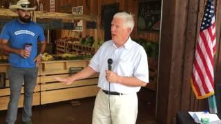 Mo Brooks talks about last week of Senate race