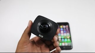 Elephone Elecam 360 Camera Unboxing - Affordable 360 Degree Camera !!