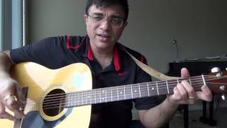Kangal Irandum Endru by MSV tamil song guitar chord lesson by Suresh