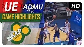 UE vs. ADMU | Game Highlights | UAAP 80 Men's Basketball | September 24, 2017