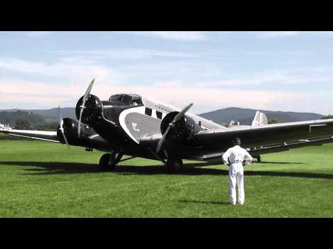Ju 52 - Start in Bensheim
