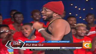 Wasafi mojo in di house! RJ the DJ on the ten #10Over10