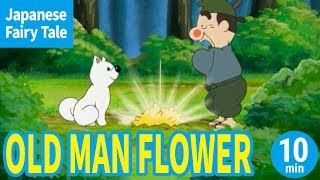 OLD MAN FLOWER (ENGLISH) Animation Of Japanese Folktale/Fairytale For Kids