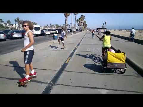 Bike ride from Santa Monica to