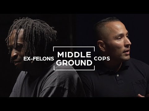 Cops And Ex Felons Seek To Find Common Ground