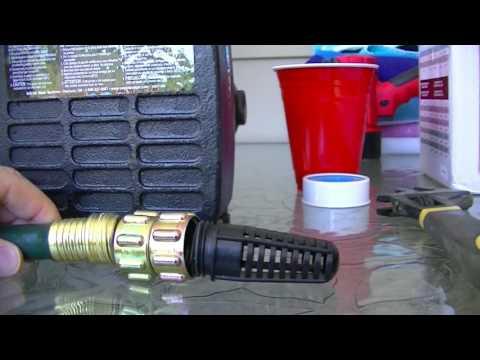 Rain Barrel / Water pump review