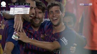 اهداف مباراة برشلونة و ديبورتيفو ألافيس | 3-0  | الدوري الإسباني | 18-8-2018 HD