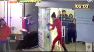 Funny Lee Kwang Soo ep 178 gymnastics challenge eng sub