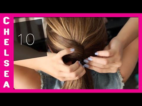 10 EASY School Hairstyles Short & Long Chelsea Crockett
