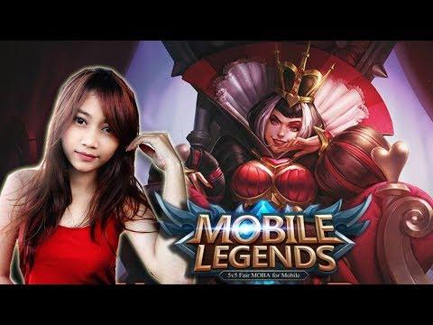 SERU-SERUAN MAIN MOBILE LEGENDS BARENG CEWEK ! :D   Mobile Legends Indonesia
