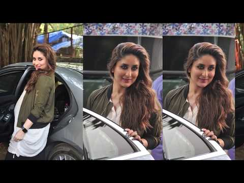 Kareena Kapoor BIG Baby Bump Show During Photoshoot