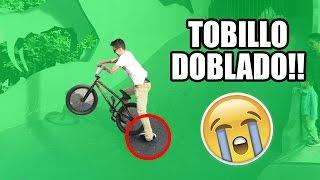 ESTRENO mi NUEVA BMX y me DOBLO EL TOBILLO!! (MUY DOLOROSO)