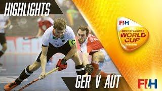 Germany v Austria - Match Highlights Indoor Hockey World Cup - Men