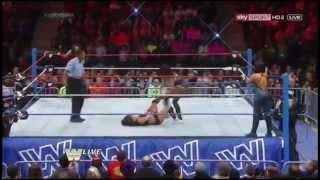WWE Raw Old School 2014 Highlights