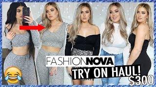 Trying On Kylies Clothes? 👚 FASHION NOVA HAUL $300+ 💸