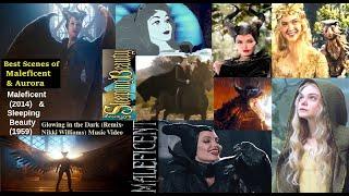 Maleficent/ Sleeping Beauty FullMovie BestScenes ft Angelina Jolie: Glowing inThe Dark-Wings' Return