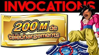 INVOCATIONS TICKETS 200M : donne-moi des SSJ4 !