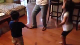 Lolai & Kiddies Dancing-Part 1  4/10/15