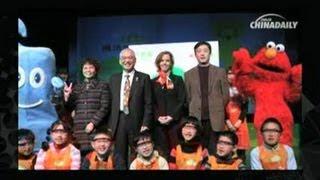 Sesame Street, animation flourishing in China
