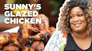 Sunny Anderson Makes 5-Star Glazed Chicken | Food Network
