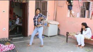 New हरयाणवी dance //तेरे हुस्न की आग //पे किया छुटटी छुटटी  वाली लड़की ने डांस /son of son 2879