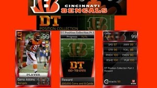 Madden 13 Ultimate Team   60-79 DT Position Collection Completion & 6 Legendary Pack Opening