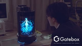 Gatebox - Virtual Home Robot [ConceptMovie1st]
