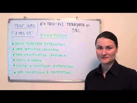 TE0-142 – Teradata Exam 14 Test SQL Questions
