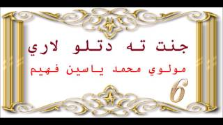 6  جنت ته دتلو لاري, Maulana Mohammad Yasin Fahim. Pashto Islami Bayan