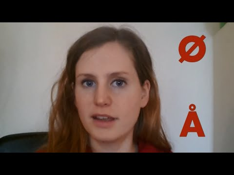 How to pronounce the Norwegian Å and Ø