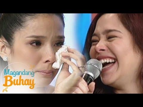 Magandang Buhay: Saab becomes emotional while giving her message to Maxene