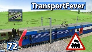Regionalexpress-S-Bahn ► Transport Fever Gameplay deutsch #72
