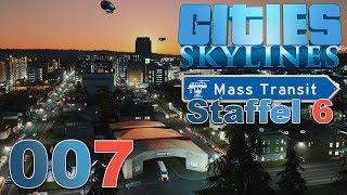 CITIES SKYLINES 🏙 ► [S6 007] Zugknoten ► Cities: Skylines - Mass Transit DLC
