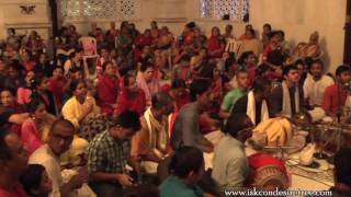 Hare Krishna Kirtan by Chaitanya Hari Prabhu on Day 3 of ISKCON Mira Road Kirtan Mela 2016