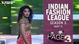 Indian Fashion League Season 3(Part 11)  | Millie Roche Posshe Studio | Page 3 | Kappa TV