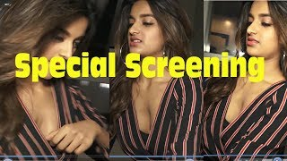 Munna Michael Movie (2017) Special Screening Nidhi Agerwal OOPS Moment