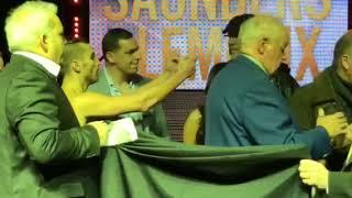 Billy Joe Saunders vs David Lemieux - CHAOS! at WEIGH IN