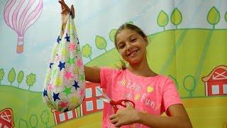 Polen tişörtten çanta yapıyor. El yapımı çanta. #Çocukvideoları