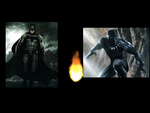 watch Batman Vs Black Panther Who Would Win? | Dream Fights!