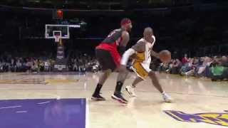 Kobe Bryant's Triple-Double Leads Lakers Over Raptors