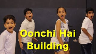 Oonchi Hai Building 2.0 Kids Dance   Bollywood Dance Choreography   Judwaa 2   Deepak Tulsyan