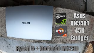 ASUS UN3481 | 45 হাজার টাকার সেরা ল্যাপটপ | RYZEN5 & Nvidia MX 230 (বাংলা রিভিড)