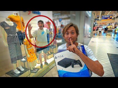 Hide N Seek in MALL Winner Shopping Spree Loser Public DARE