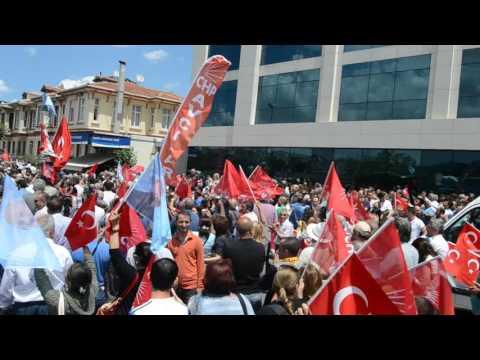 Kemal Kılıçdaroğlu'na 'mermili'saldırı(ESENLER)